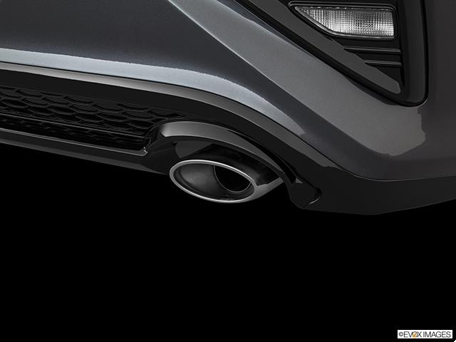 2019 Kia Forte Chrome tip exhaust pipe