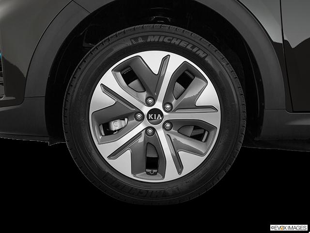 2019 Kia Niro EV Front Drivers side wheel at profile