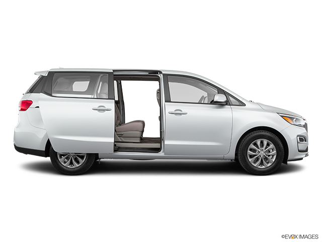 2019 Kia Sedona Passenger's side view, sliding door open (vans only)