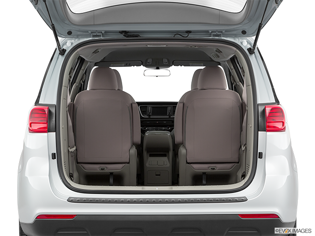 2019 Kia Sedona Trunk open