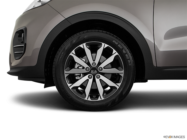 2019 Kia Sportage Front Drivers side wheel at profile
