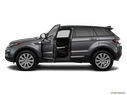 2019 Land Rover Range Rover Evoque Driver's side profile with drivers side door open