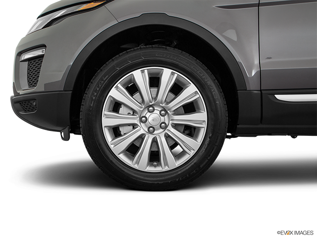 2019 Land Rover Range Rover Evoque Front Drivers side wheel at profile