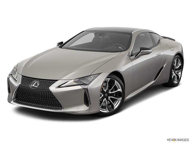 2019 Lexus LC 500 Front angle view