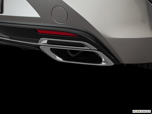 2019 Lexus LC 500 Chrome tip exhaust pipe