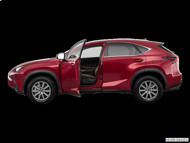 2019 Lexus NX 300 Driver's side profile with drivers side door open