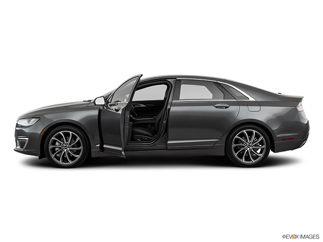 2019 Lincoln MKZ Driver's side profile with drivers side door open