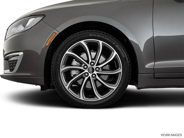 2019 Lincoln MKZ Front Drivers side wheel at profile