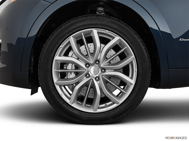 2019 Maserati Levante Front Drivers side wheel at profile