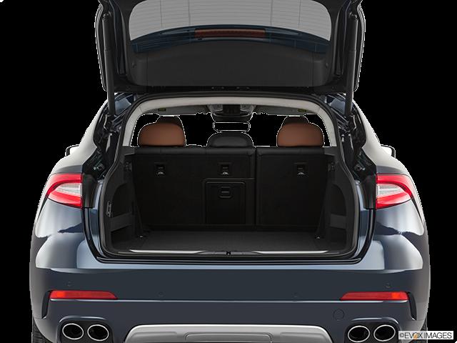 2019 Maserati Levante Trunk open