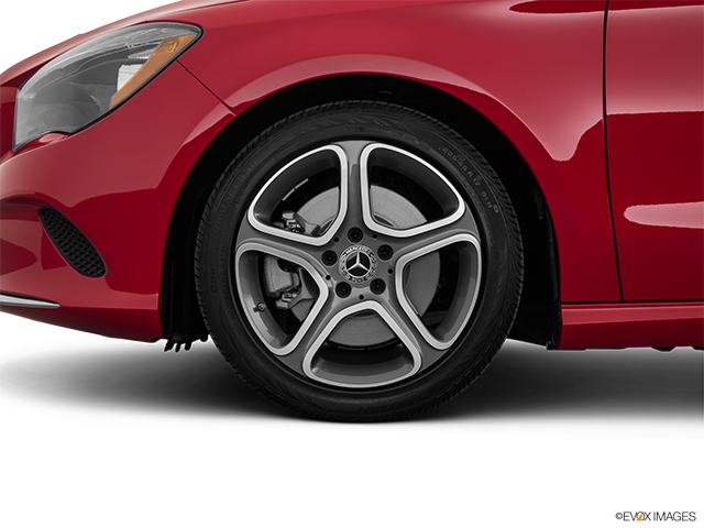 2019 Mercedes-Benz CLA Front Drivers side wheel at profile