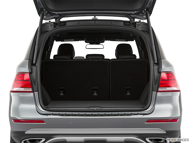 2019 Mercedes-Benz GLE Trunk open