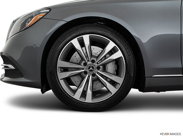 2019 Mercedes-Benz S-Class Front Drivers side wheel at profile