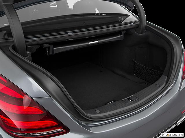 2019 Mercedes-Benz S-Class Trunk open