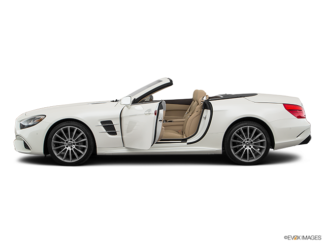 2019 Mercedes-Benz SL-Class Driver's side profile with drivers side door open