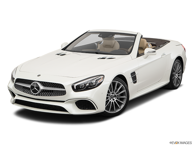 2019 Mercedes-Benz SL-Class Front angle view