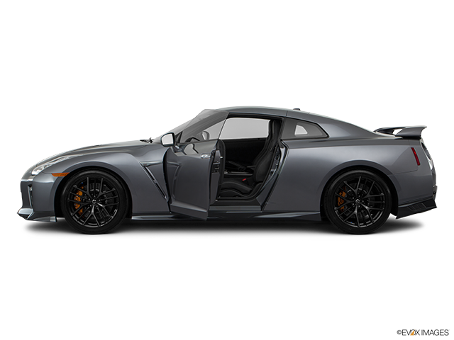 2019 Nissan GT-R Driver's side profile with drivers side door open