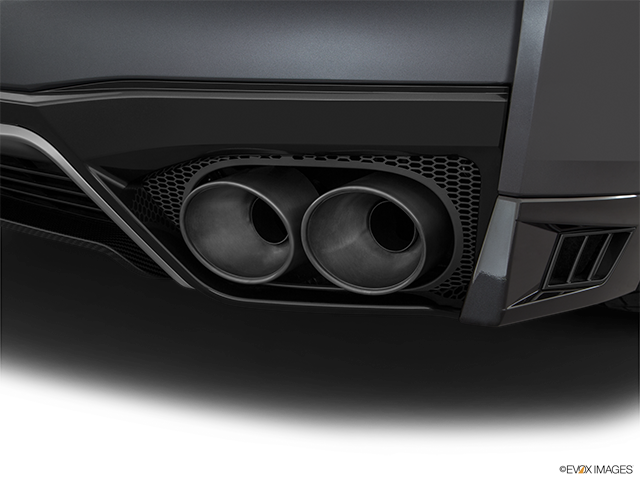 2019 Nissan GT-R Chrome tip exhaust pipe