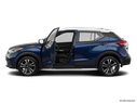 2019 Nissan Kicks Driver's side profile with drivers side door open