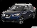 2019 Nissan Kicks Front angle view
