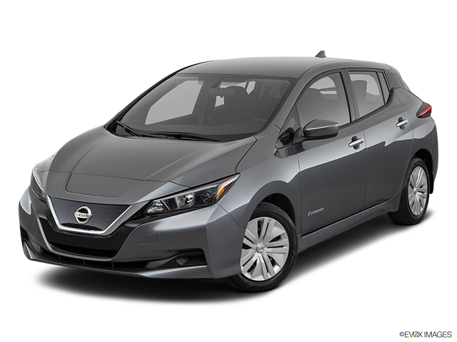 2019 Nissan LEAF Front angle view