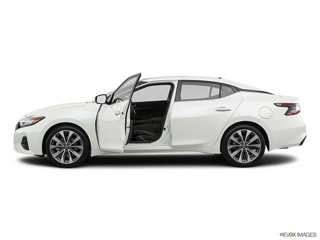 2019 Nissan Maxima Driver's side profile with drivers side door open