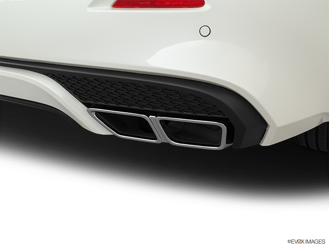 2019 Nissan Maxima Chrome tip exhaust pipe