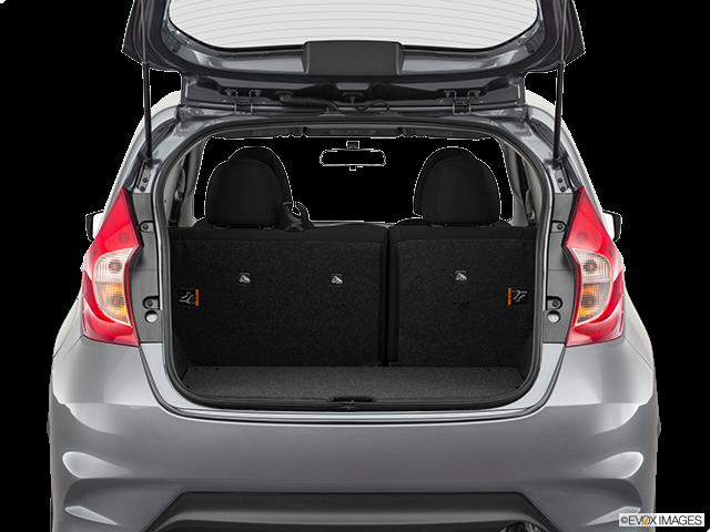 2019 Nissan Versa Note Trunk open