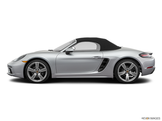 2019 Porsche 718 Boxster Drivers side profile, convertible top up (convertibles only)