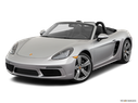 2019 Porsche 718 Boxster Front angle view