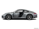2019 Porsche 911 Driver's side profile with drivers side door open