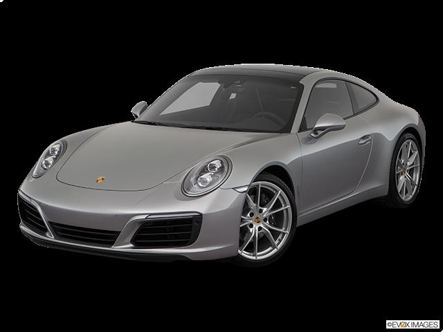 2019 Porsche 911 Front angle view
