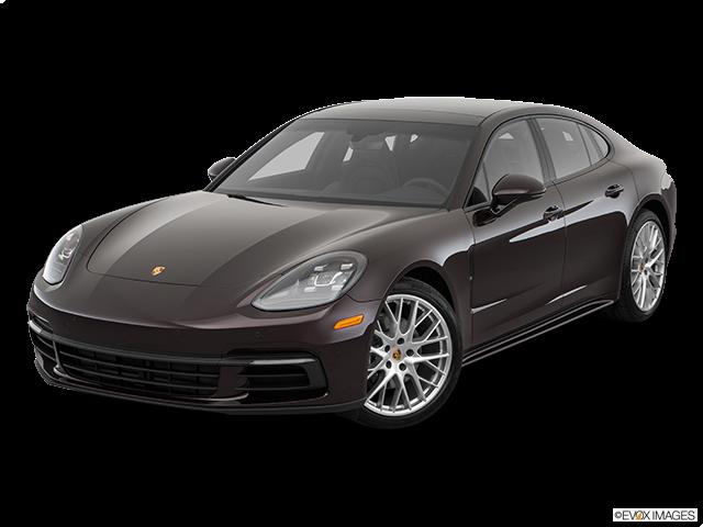2019 Porsche Panamera Front angle view