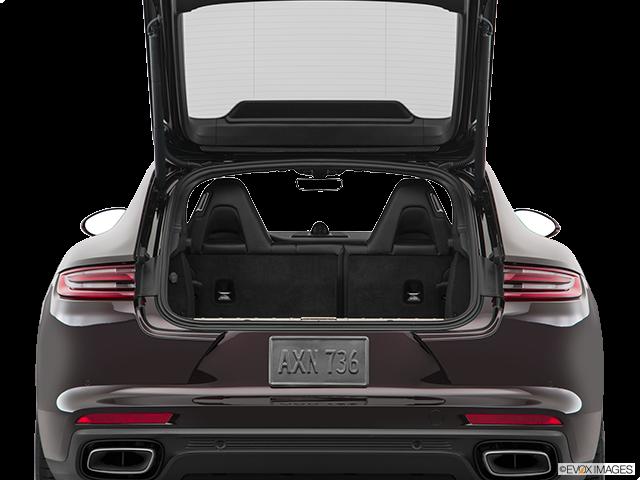 2019 Porsche Panamera Trunk open
