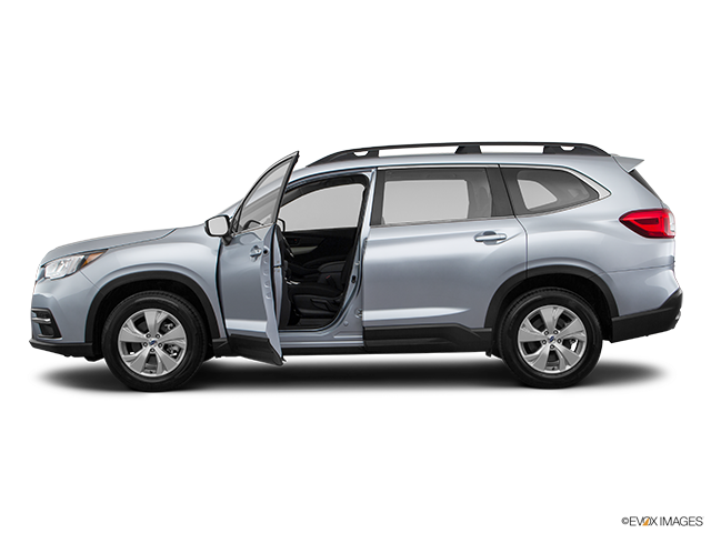 2019 Subaru Ascent Driver's side profile with drivers side door open