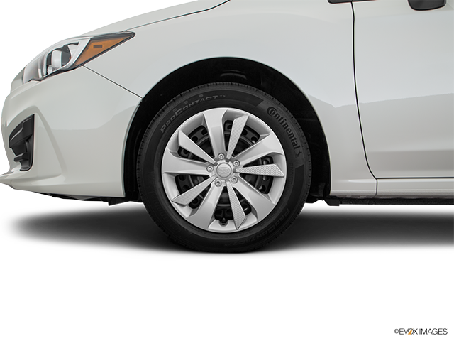 2019 Subaru Impreza Front Drivers side wheel at profile