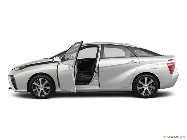 2019 Toyota Mirai Driver's side profile with drivers side door open