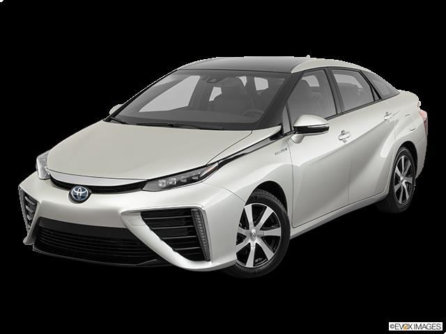2019 Toyota Mirai Front angle view
