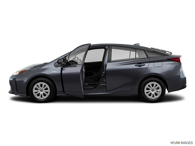 2019 Toyota Prius Driver's side profile with drivers side door open