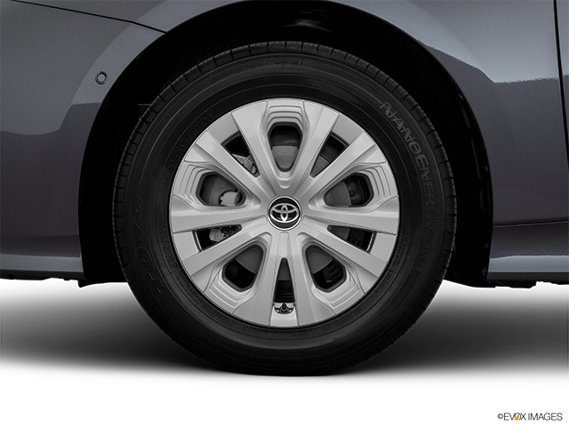 2019 Toyota Prius Front Drivers side wheel at profile