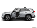 2019 Toyota RAV4 Driver's side profile with drivers side door open