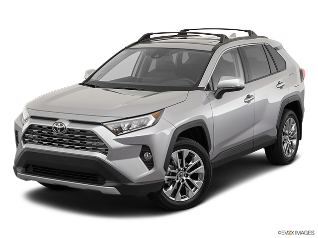2019 Toyota RAV4 Front angle view
