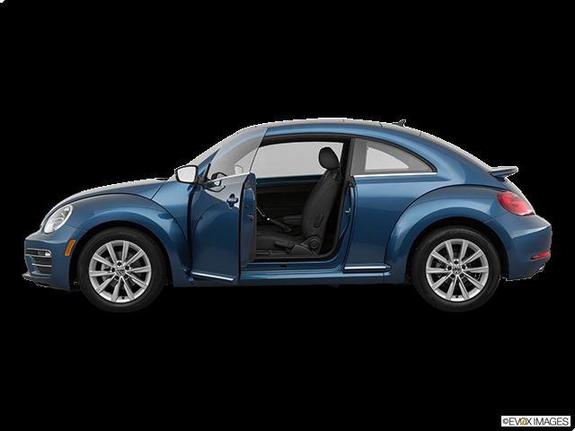 2019 Volkswagen Beetle Driver's side profile with drivers side door open