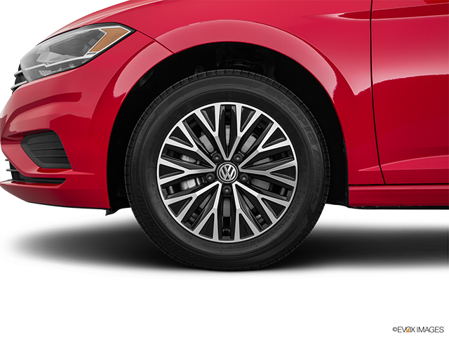 2019 Volkswagen Jetta Front Drivers side wheel at profile
