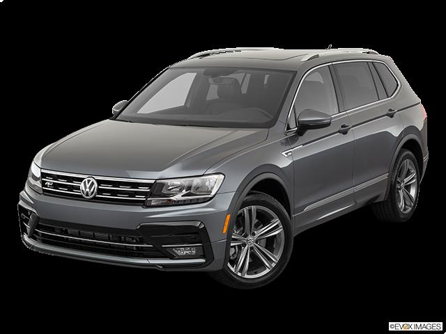2019 Volkswagen Tiguan Front angle view