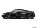 2020 Audi R8 Driver's side profile with drivers side door open