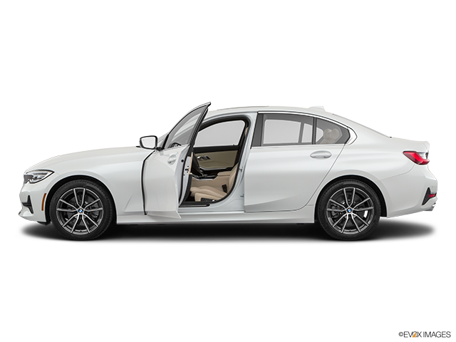 2020 BMW 3 Series Driver's side profile with drivers side door open