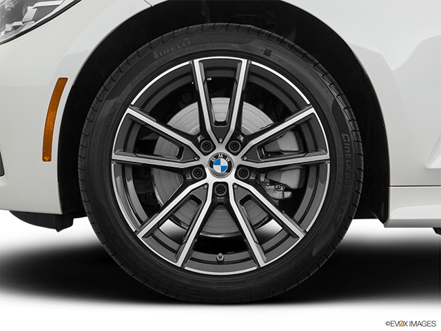 2020 BMW 3 Series Front Drivers side wheel at profile