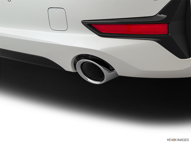 2020 BMW 3 Series Chrome tip exhaust pipe