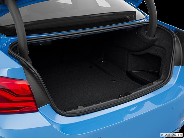 2020 BMW M4 Trunk open